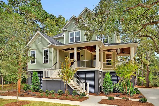 New Custom Built Homes by Lowcountry Premier Custom Homes at 1123 Oak Overhang in Charleston, SC