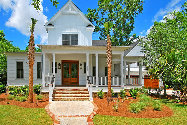 New Custom Built Homes by Lowcountry Premier Custom Homes at 314 Hidden Bottom in Charleston, SC