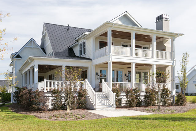 New Custom Built Homes by Lowcountry Premier Custom Homes at 329 Lesesne Street in Charleston, SC